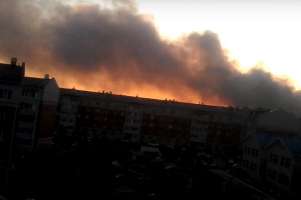 В пресс-службе «Магнита» заявили, что на Кировском мусорном полигоне пожаров не было уже давно