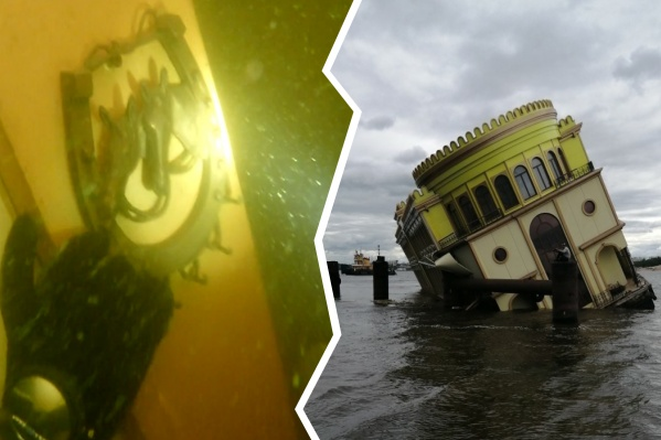 Похоже на «Титаник»