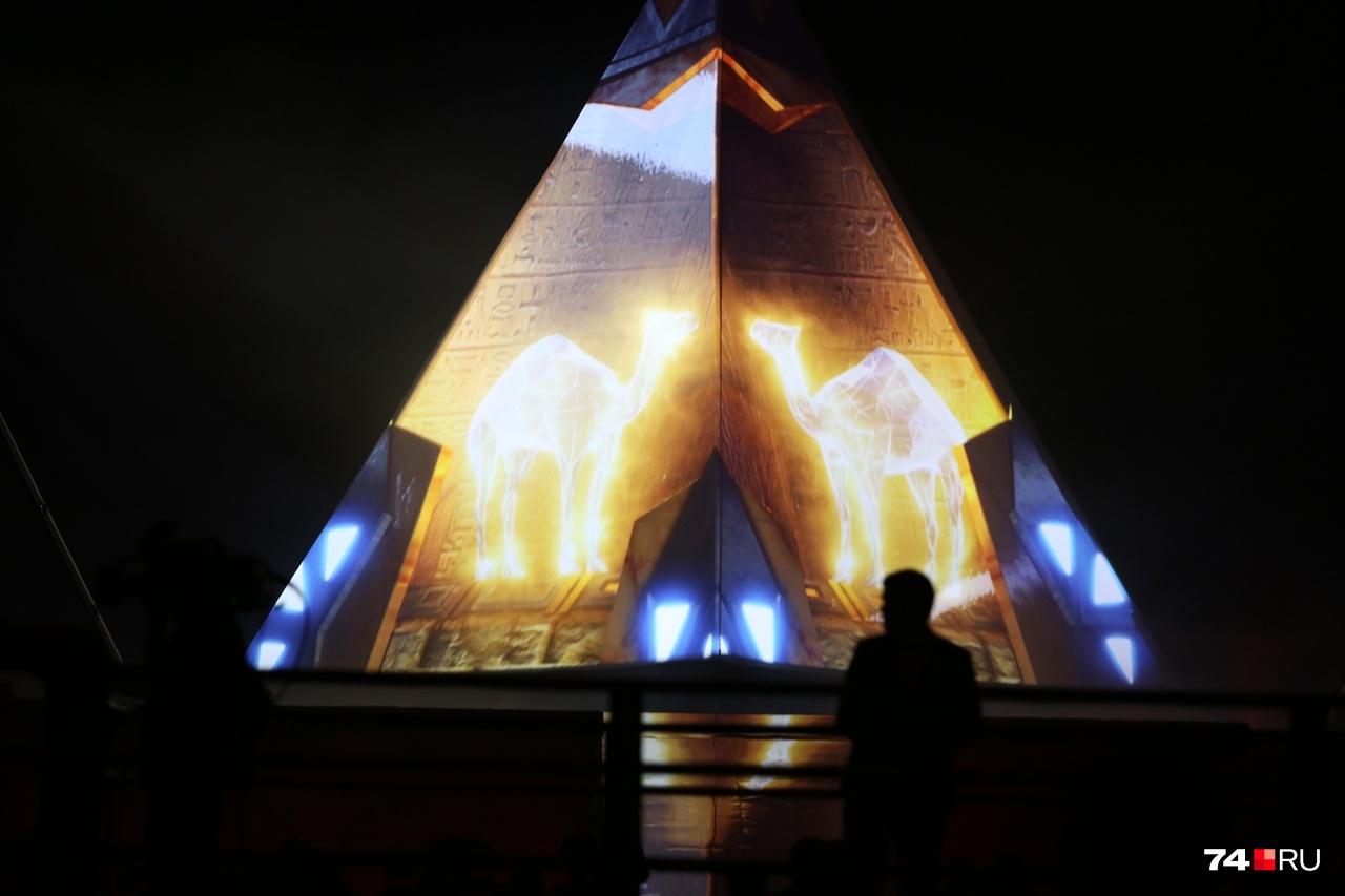 Челябинск показал очень красивое спортивное шоу