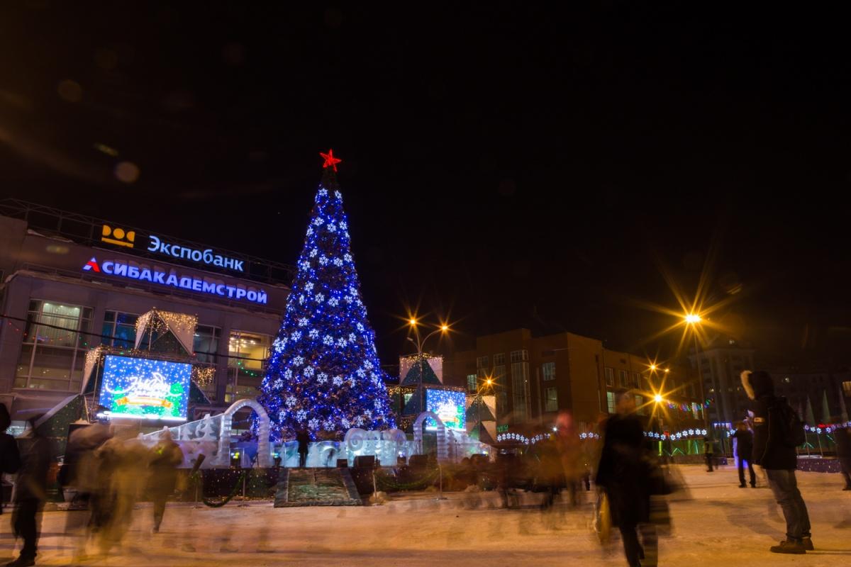 Тожественное открытие ледового городка — 25 декабря в 18:00