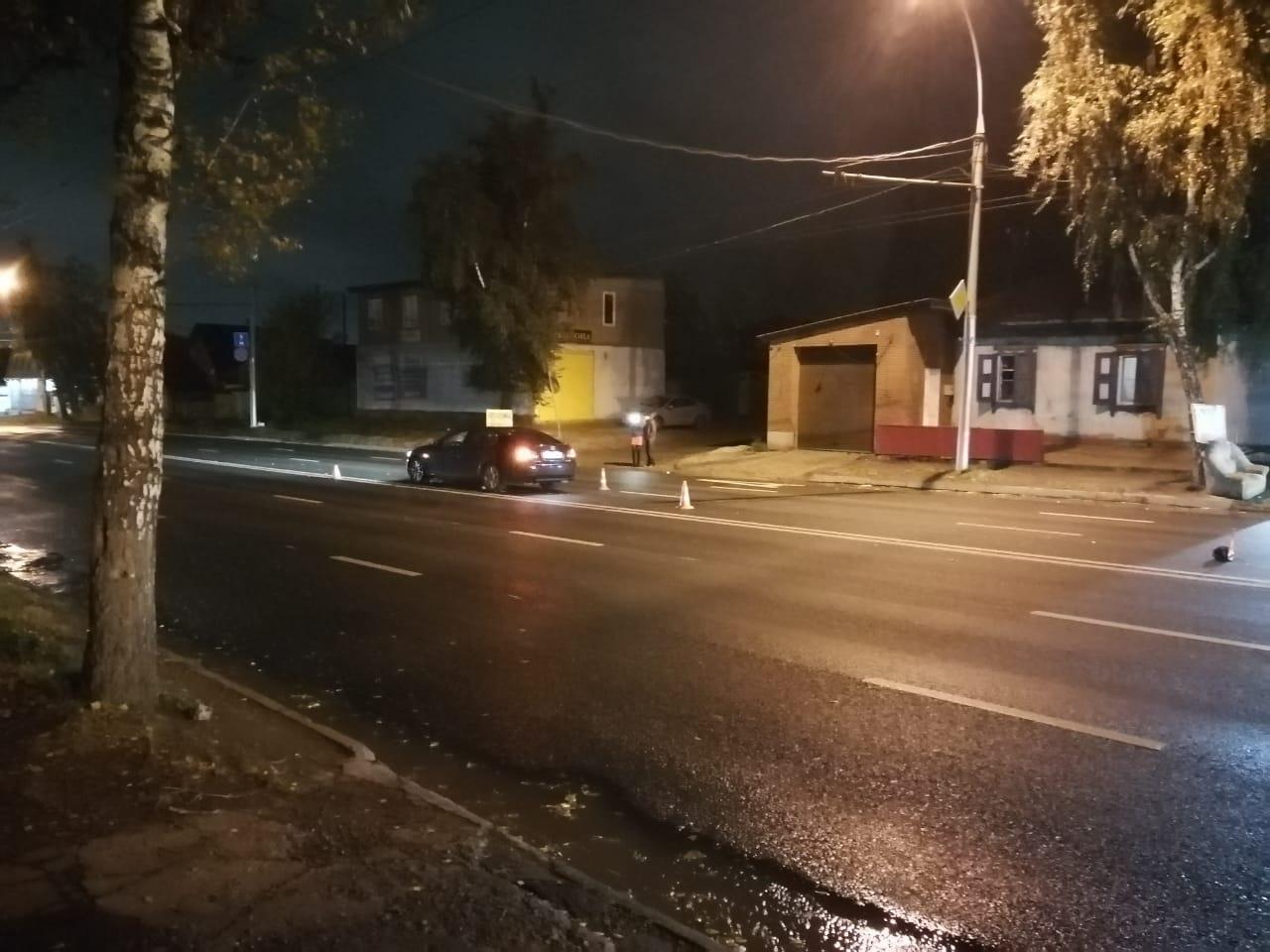ДТП случилось на улице Жуковского