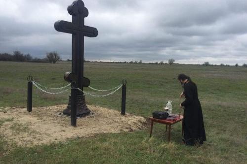 Охранные кресты устанавливали на Руси в гиблых и опасных местах