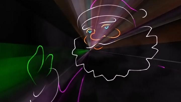 Лазерное шоу и фейерверк ждут курганцев на открытии новогодней площадки в Заозёрном