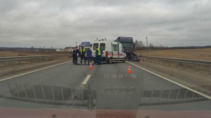 В ДТП на трассе М-8 в Ярославской области погибли три человека