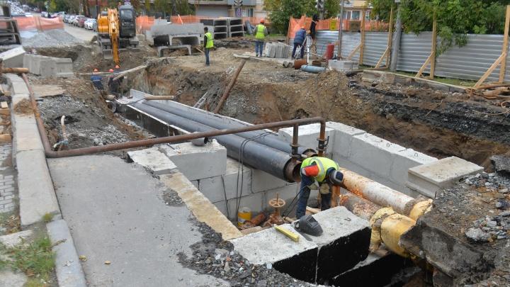 Придётся потерпеть: энергетики продлили срок ремонта на Мамина-Сибиряка