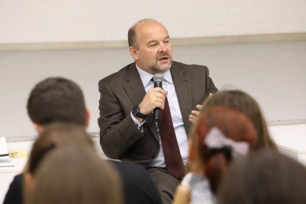 Игорь Орлов на встрече с участниками программы «Ты — предприниматель»
