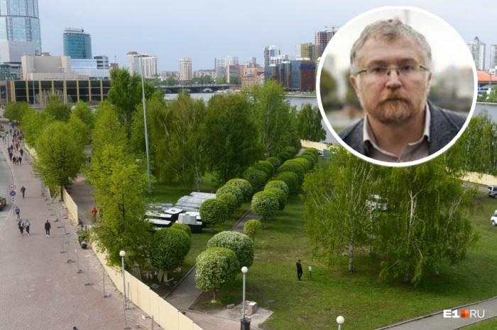 Константин Киселев говорит, что сквер нужно вообще исключить из голосования
