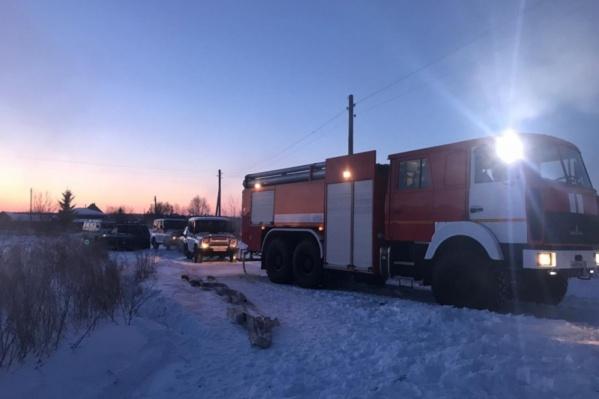 Пожарные приехали через семь минут после поступления вызова
