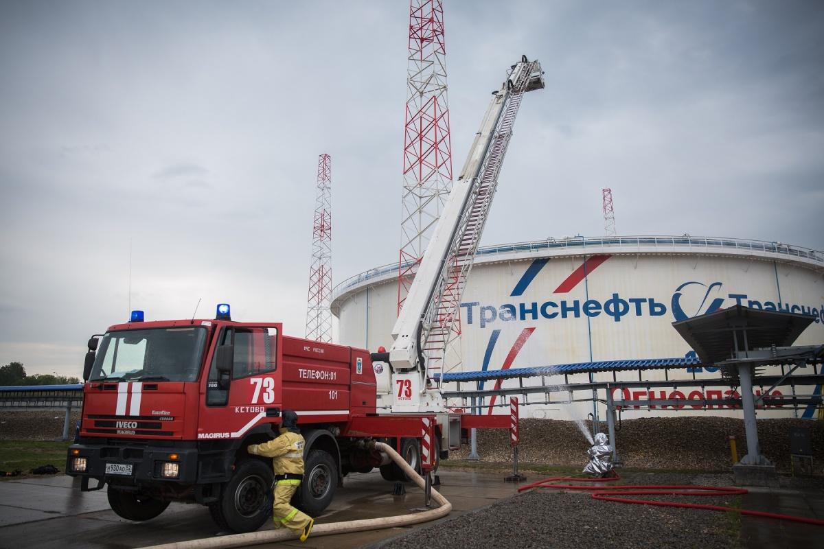 Условный пожар потушили на нефтеперерабатывающей станции «Транснефть — Верхняя Волга»