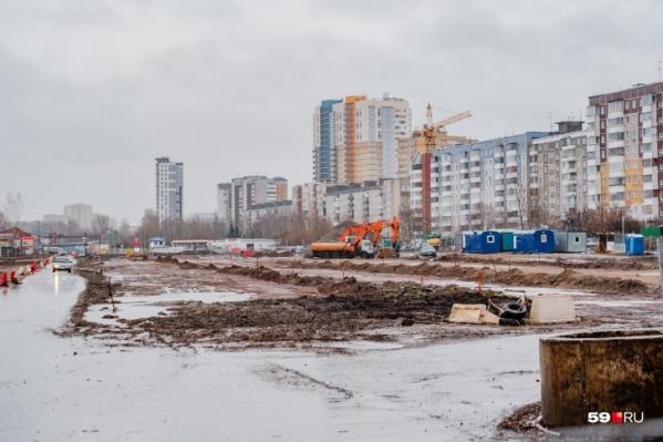 Реконструкция улицы Строителей началась летом 2019 года