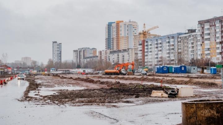 Подрядчик отказался от реконструкции улицы Строителей в Перми? Отвечает Минтранс Прикамья