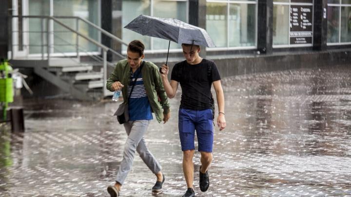 То дождь, то солнце: синоптики спрогнозировали переменчивую погоду в выходные