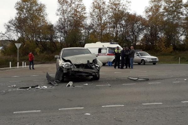 В аварии пострадала пассажирка «Тойоты»