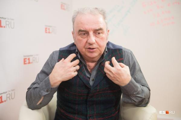 С Владимиром Шахриным мы поговорили не только о музыке, но и о городских проблемах