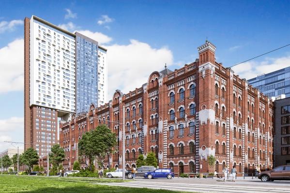 ЖК «Мельница» — уникальный формат архитектурно-градостроительной среды Екатеринбурга