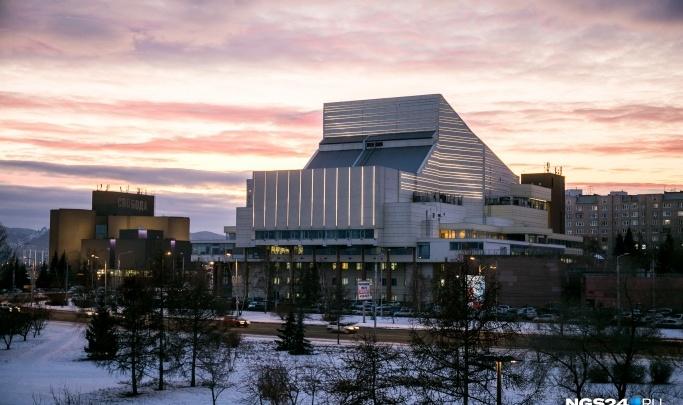 После кратковременных морозов в Красноярск идет оттепель