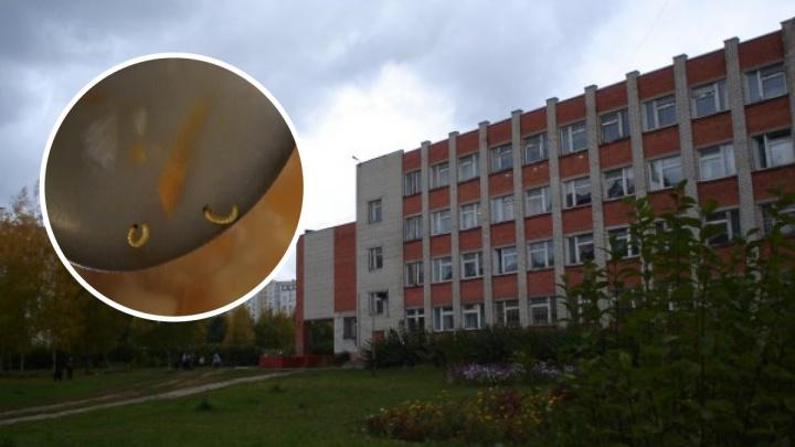 В школе, ученики которой сняли на фото суп с червями, прошли проверки: результаты