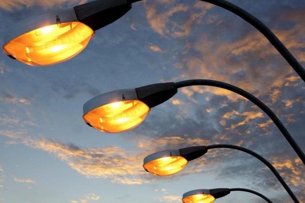 Старые светильники заменят светодиодными