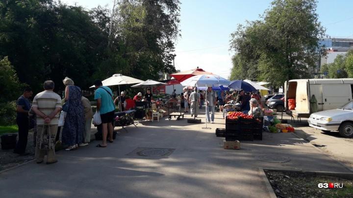 Судебные приставы рассказали, когда снесут рынок у «Авроры» в Самаре