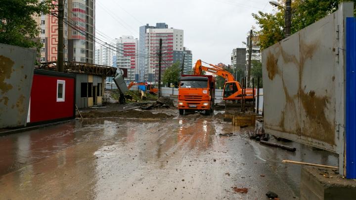 Ещё один подземный переход начинают строить и меняют движение на Копылова