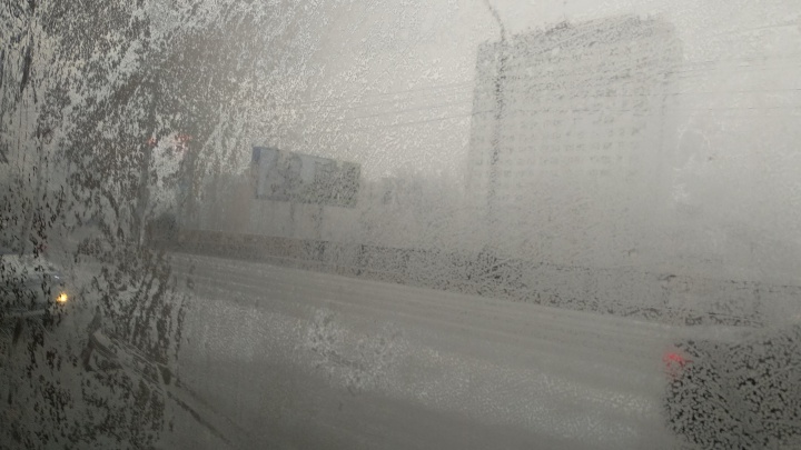 Жгучий зимний холод накрыл Красноярск