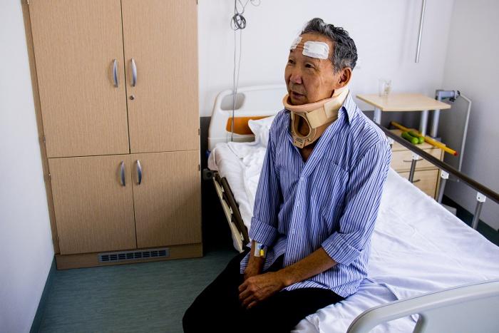Альберт Махреев прожил с опасной болезнью 66 лет, пока просто не упал во время прогулки по улице