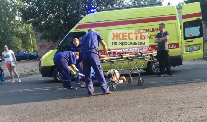 «Лежал и плакал, вокруг толпа»: на улице Гагарина сбили ребенка на самокате