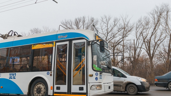 В Самаре возобновили работу троллейбуса №16