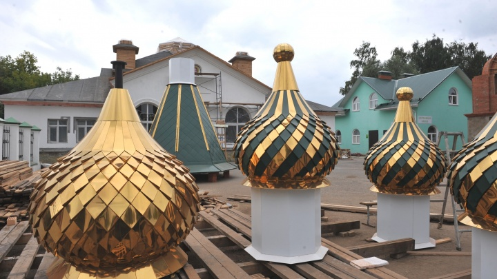 Газовики примут участие в подъеме куполов храма в честь Святой Троицы в Чайковском