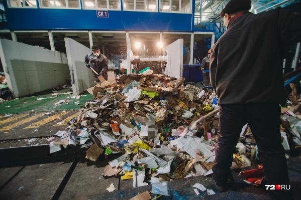До 40% мусора, который производят тюменцы, можно превратить во вторсырье