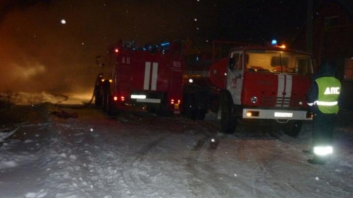 Стала известна причина пожара в Башкирии, в котором погибли трое мужчин