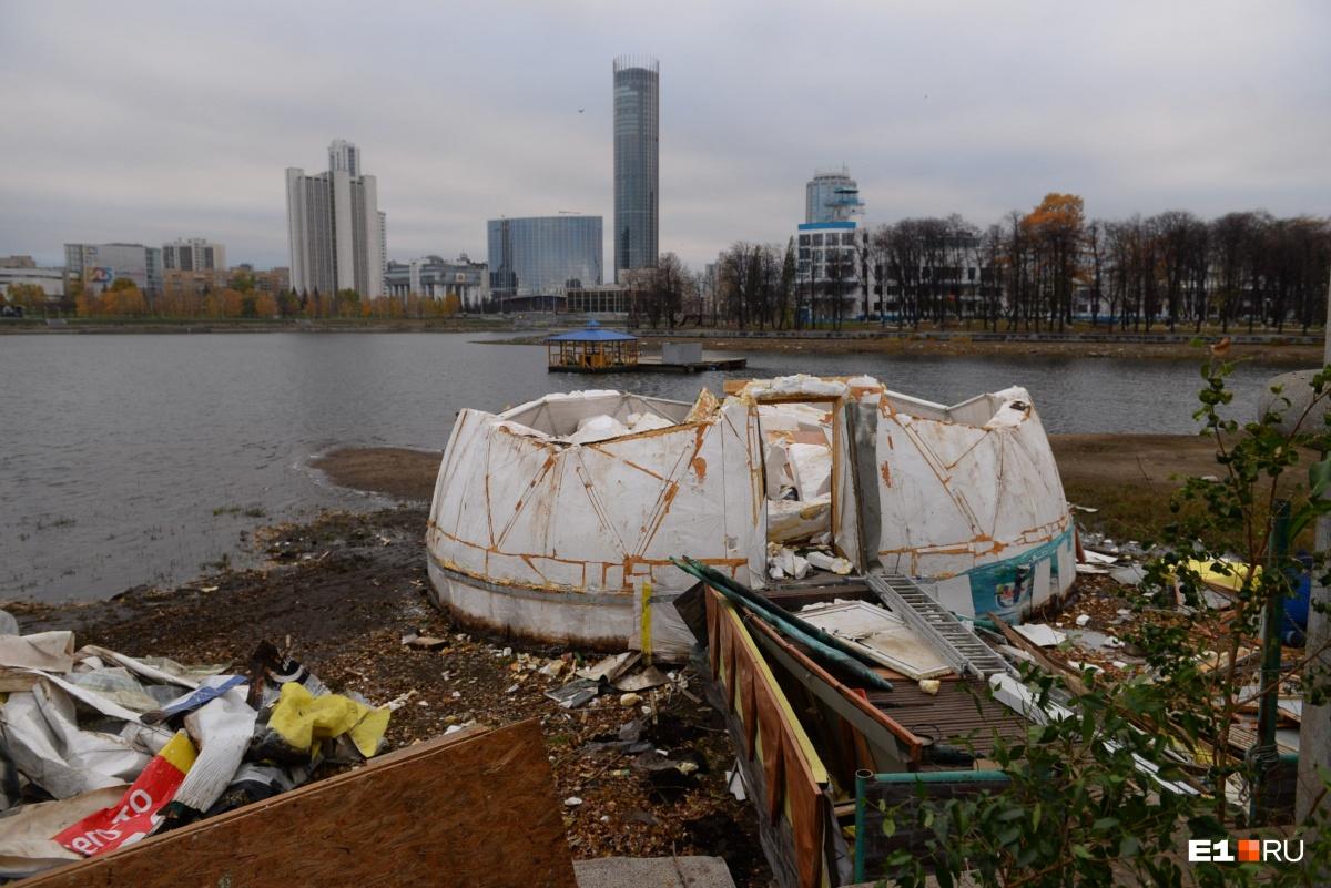 Собственники пытались доказать, что это судно, а не здание