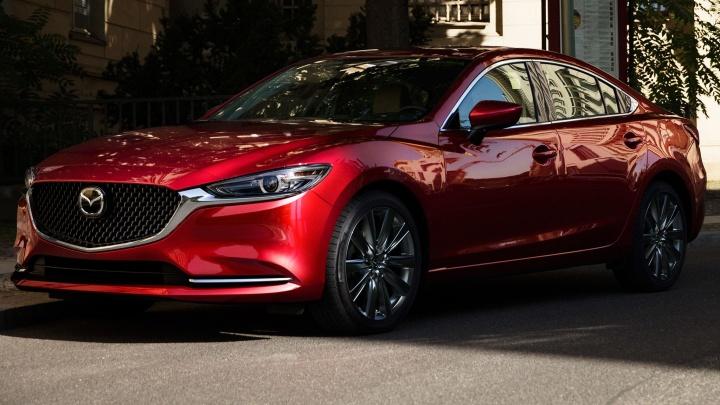 Новая Mazda 6 получила акулью пасть