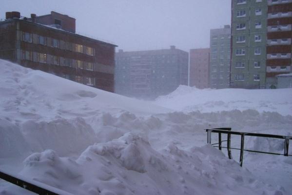 В Норильске сегодня тепло — до –15 градусов, но ветрено
