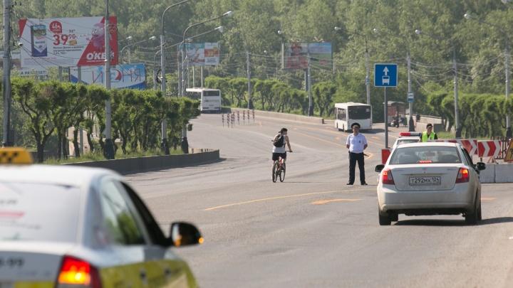 Ремонт Коммунального: пробки размазали по магистралям