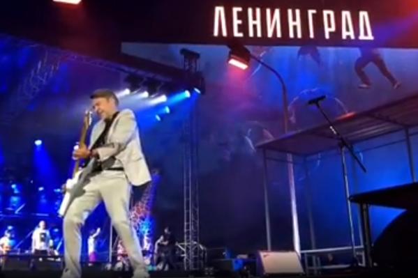 Организаторам концерта грозит от 40 до 50 тысячрублей штрафа