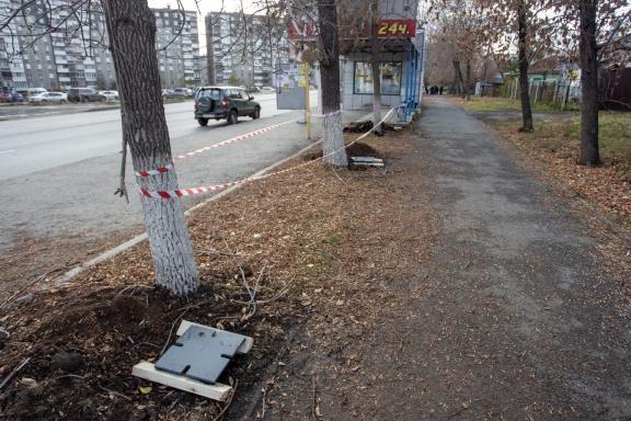 На гостевом маршруте в Челябинске приостановили установку защитных экранов