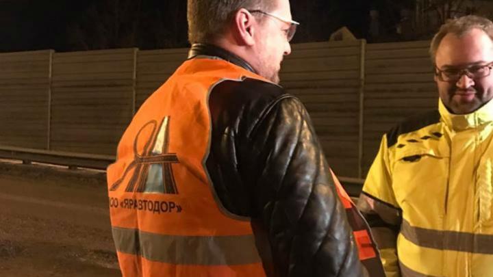 Ярославские активисты проверили, как ремонтируют Октябрьский мост. Какие результаты