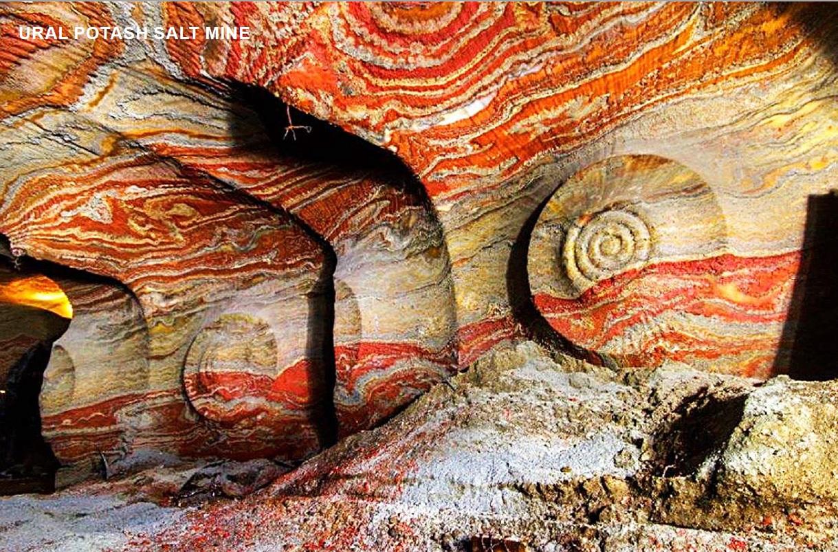 Использование уральских минералов в интерьерах
