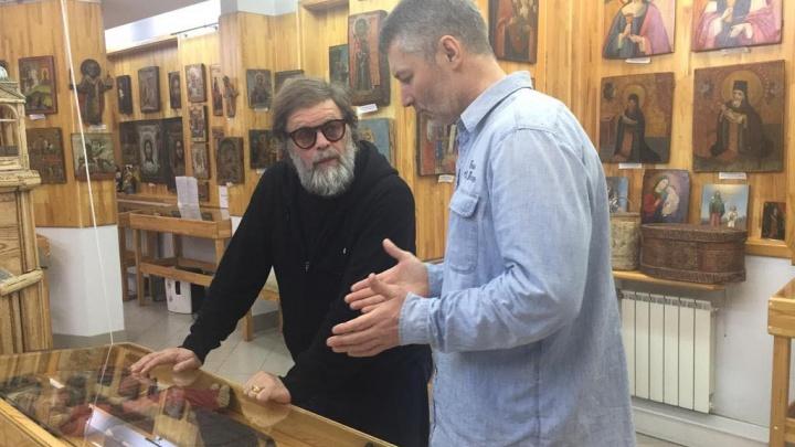 Поговорили об иконах и Сергее Юрском: в гости к Ройзману заехал рок-легенда Борис Гребенщиков