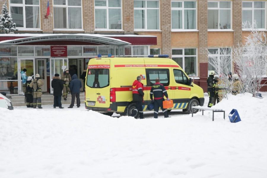 В начале года в Перми школьники устроили резню