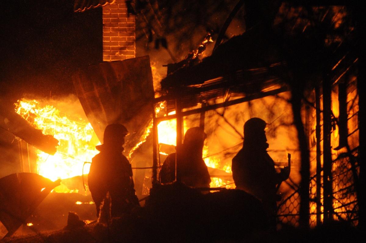 Причины пожара пока неизвестны