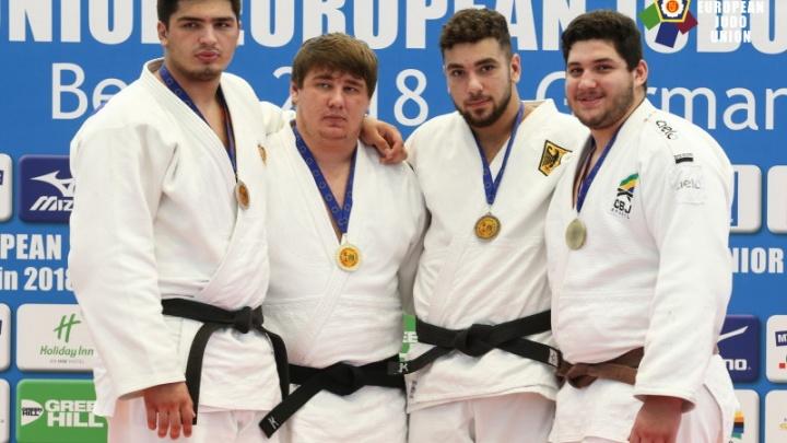 С золотом из Берлина: челябинский дзюдоист победил на юниорском чемпионате Европы