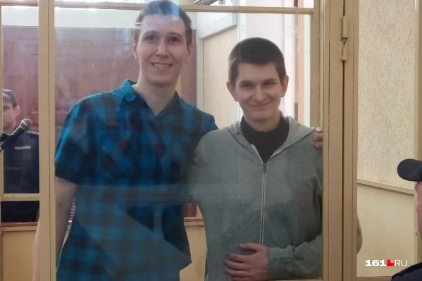 Ян Сидоров и Влад Мордасов в Ростовском областном суде