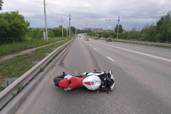 Авария произошла на улице Космонавта Леонова