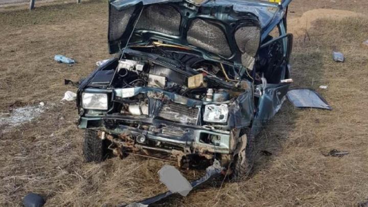 Смертельное сальто: в Самарской области «Ока» инвалида слетела в кювет и перевернулась