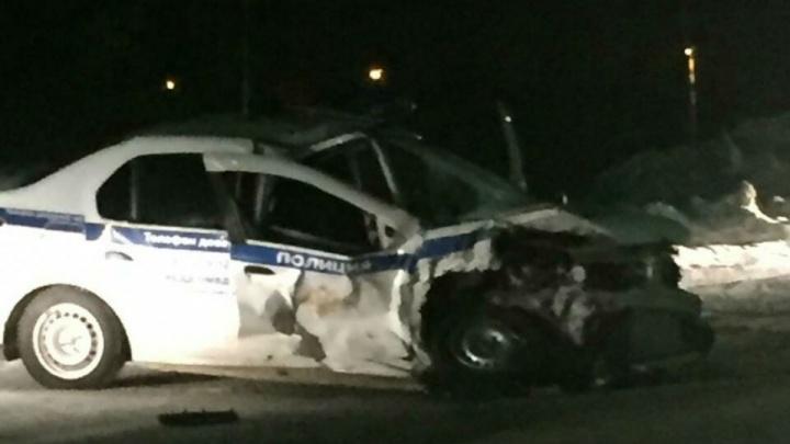 На пьяного водителя, который протаранил машину ДПС в Дюртюлях, завели уголовное дело