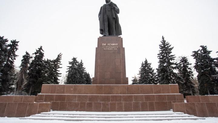 «Всё точно, в срок и с гарантией»: ремонт памятника Ленину в центре Челябинска назвали удачным