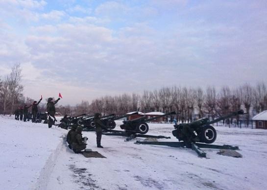 Военные устроят 20-минутный салют на береге вчесть Дня защитника Отечества