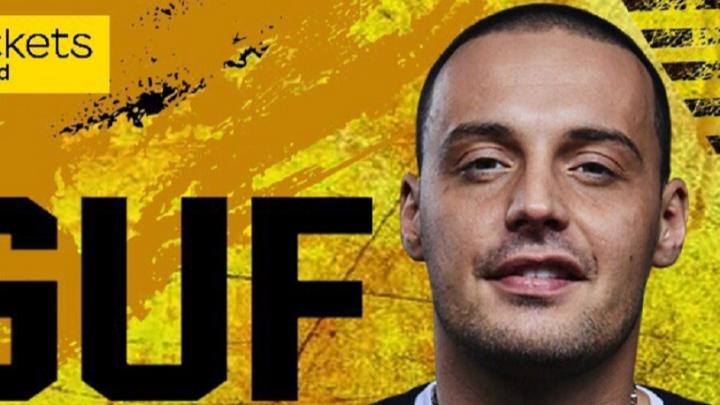 Рэпер Guf сломал два ребра и отменил концерт в Волгограде